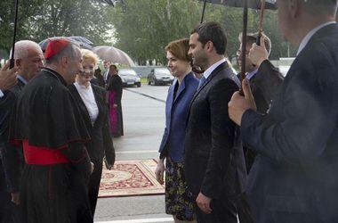 Сагайдак встретился с Государственным секретарем Святого Престола кардиналом Пьетро Паролином, , фотоkievcity.gov.ua