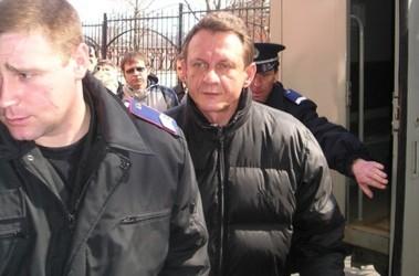 Перед судом. Виноградова доставили из СИЗО. Фото А. Ильченко
