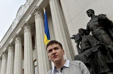 Надежда Савченко довольна своим законом.Фото: AFP