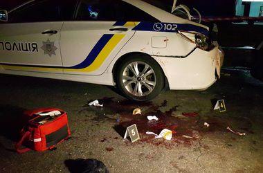 У ДТП постраждали двоє поліцейських. Фото: Влад Антонов