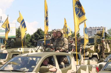 """«Азов» вывели из Мариуполя. Фото: пресс-служба """"Азова"""""""