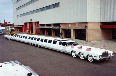Самый длинный лимузин в мире