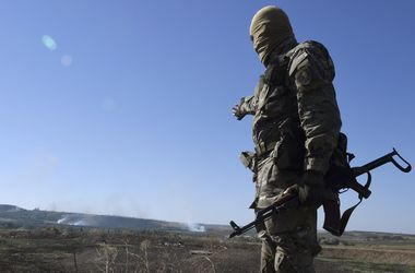 Боевик на Донбассе. Фото: AFP