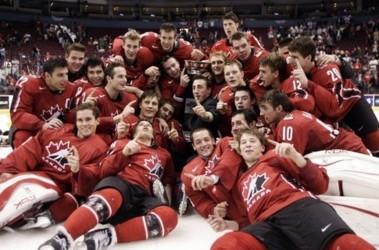 Триумф молодежной сборной Канады по хоккею. Фото АР