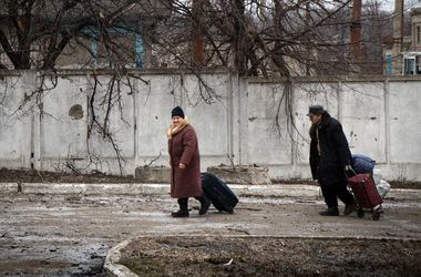 Жители Донецка. Фото: AFP