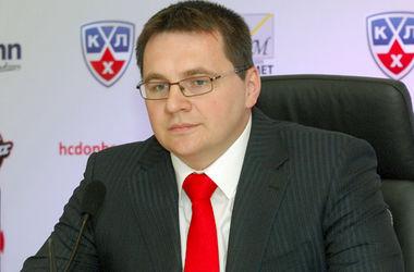 """Андрей Назаров. Фото ХК """"Донбасс"""""""
