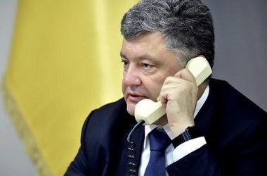 Петро Порошенко зідзвонився з президентом Киргизстану. Фото: president.gov.ua