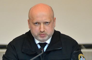 Олександр Турчинов. Фото: СНБО