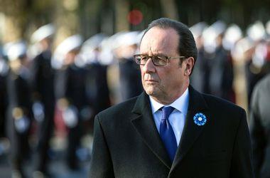 Франсуа Олланд, фото AFP