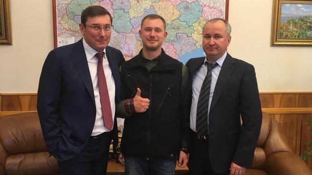 Илья Богданов будет работать в пресс-центре СБУ. Фото: facebook.com/PanKacap