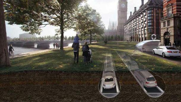 Подобно метрополитену, управлять трафиком будет центральная система контроля движения