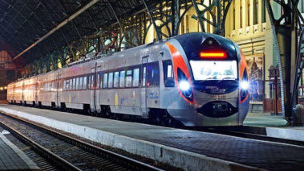 """Интерсити"" скоро будет ездить в Польшу. Фото: intercity.kiev.ua"