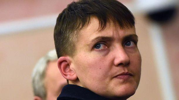 Надежда Савченко. Фото: AFP