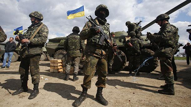 Українські військові. Фото: AP