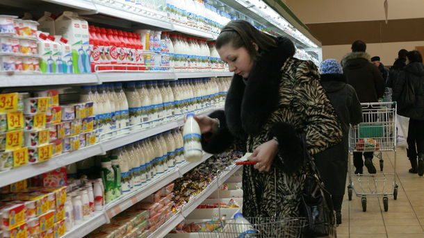 """Абсолютным лидером по росту цен в Украине стала """"молочка"""""""