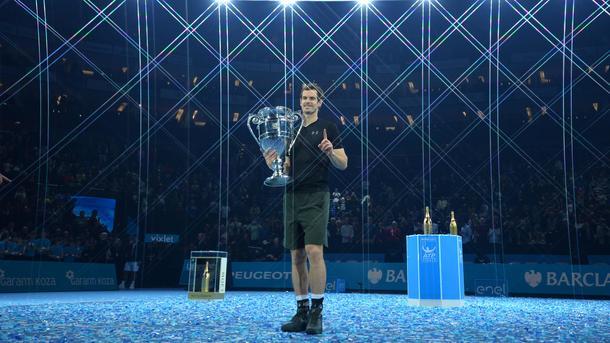 Лучший теннисист мира Энди Маррей. Фото AFP