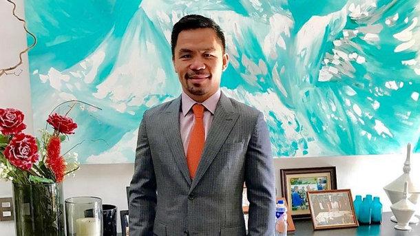 Сенатор Мэнни Пакьяо. Фото Instagram