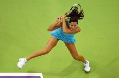 """Ана Иванович. Сербская теннисистка выкладывается в """"одиночке"""". Фото AFP"""