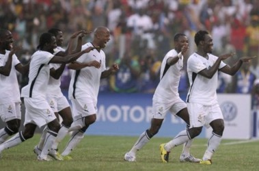 Африканская радость: Гана выигрывает и идет дальше. Фото АР