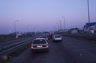 В очереди на польско-украинской границе умер водитель грузовика, фото lanos.com.ua