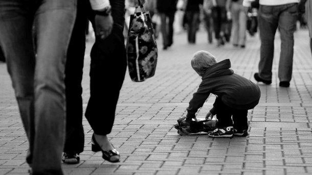 Дитину забрала небайдужа жінка. Фот
