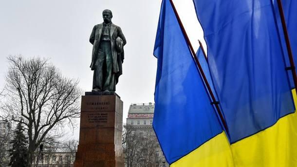 Памятник Т.Г. Шевченку в Киеве. Фото: facebook.com/storozhuk.gromada