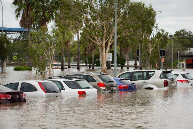 Наводнение в Австралии: погибшие животные, плавающие машины и дома под  водой - Последние мировые новости - Зона наводнения растянулась на тысячу  километров: местные жители остались без транспорта и жилья | СЕГОДНЯ