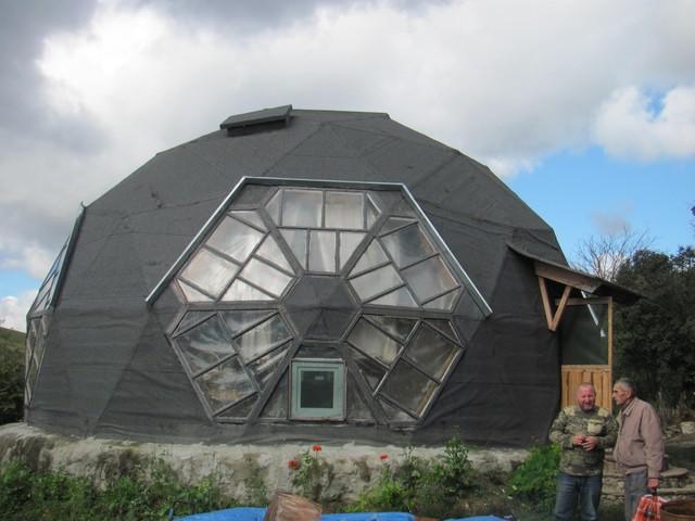 5 веских причин построить дом с геодезическим куполом