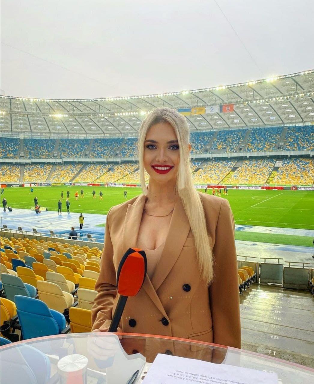Украинская ведущая подняла на уши Италию: белокурая красавица стала героиней 1 апреля