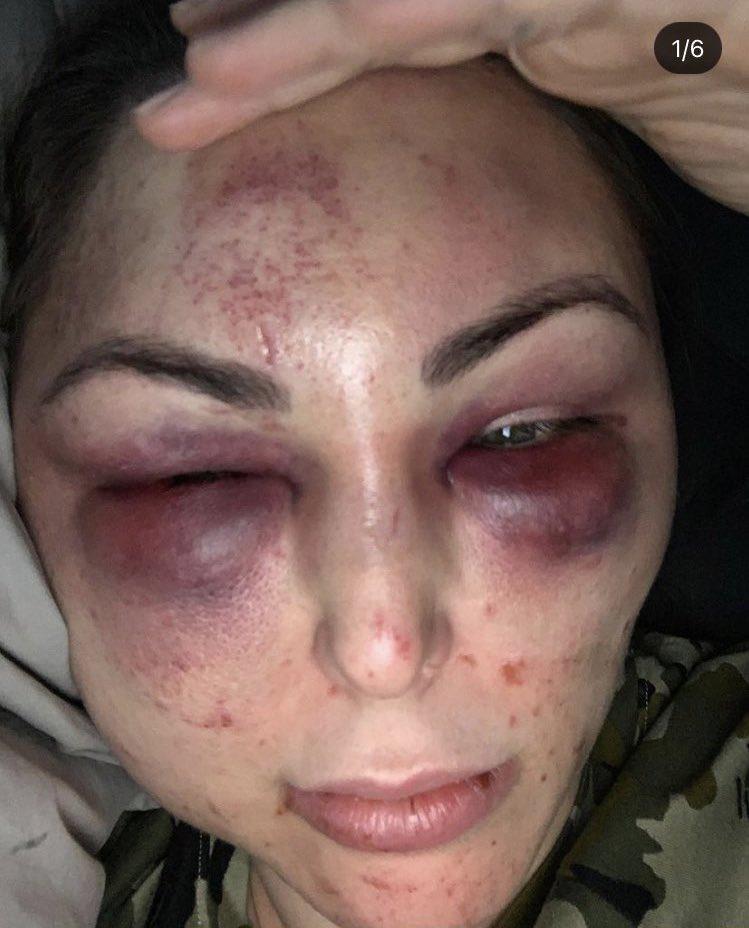 Экс-игрок российского клуба жестоко избил эффектную девушку: это попало на камеру