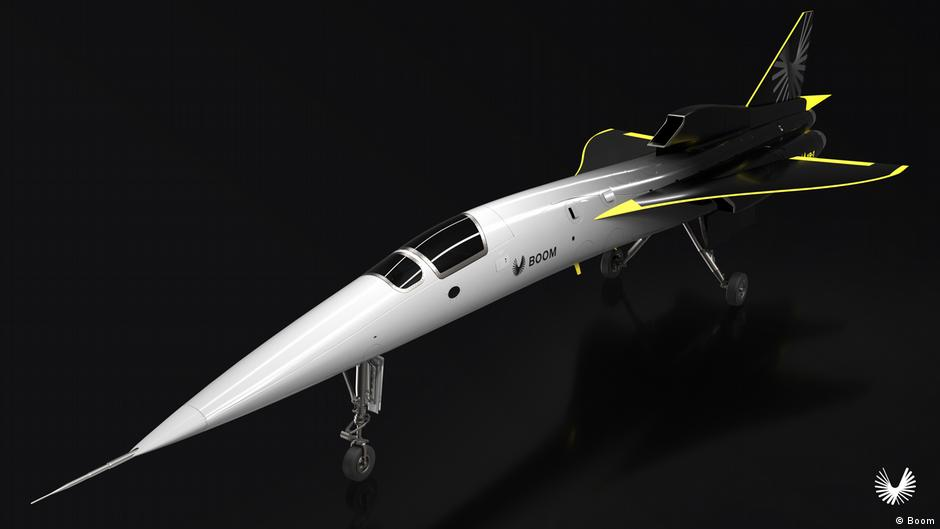 Из Нью-Йорка в Лондон за два часа: в США строят уникальный самолет